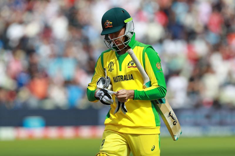 Peter Handscomb last played for Australia at the 2019 World Cup