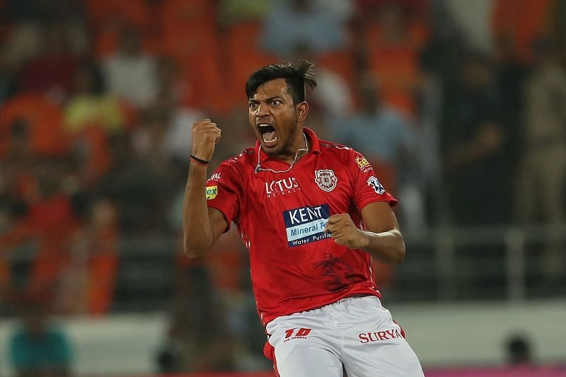 Rajpoot has the best figures by an uncapped Indian bowler in the IPL