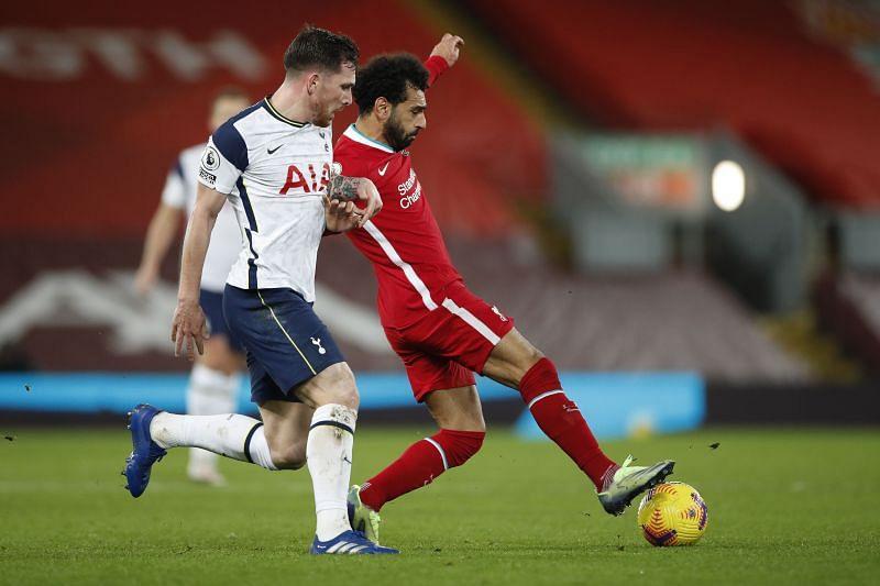 Liverpool beat Tottenham 2-1 earlier in the season