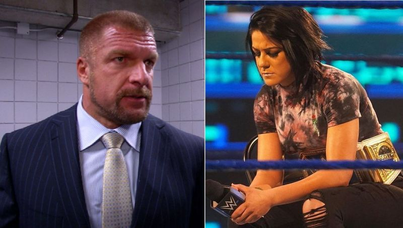 Triple H and Bayley