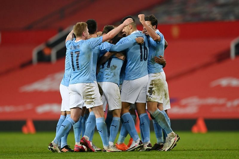 Manchester City were deserving 2-0 winners over Manchester United in their semi-final encounter