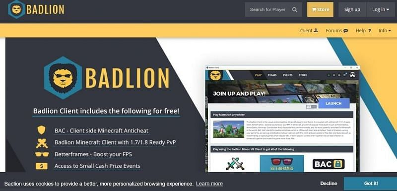 Everything Known About The Minecraft Badlion Client In 2021
