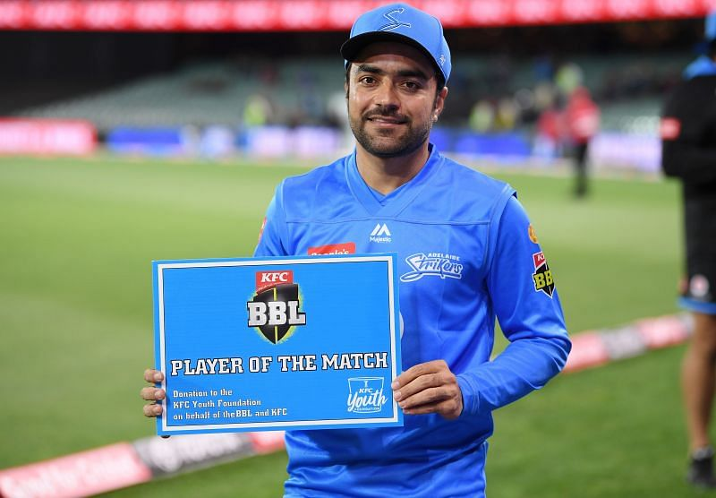 Rashid Khan will leave the BBL for Afghanistan duty on Monday