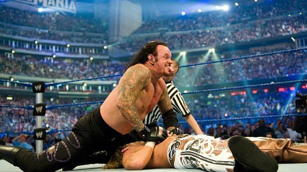 The Undertaker and Shawn Michaels squared off at WrestleMania 25 and 26