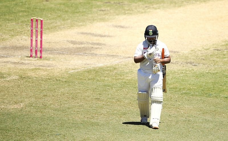 Rishabh Pant fell three short of a hundred at the SCG. (Pic: Twitter)