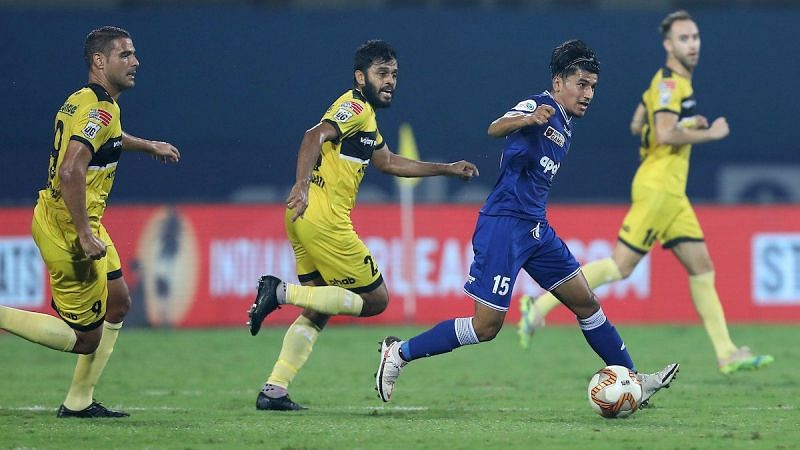 Anirudh Thapa will have to take up the role of Rafael Crivellaro in the midfield. (Image: Chennaiyin FC)