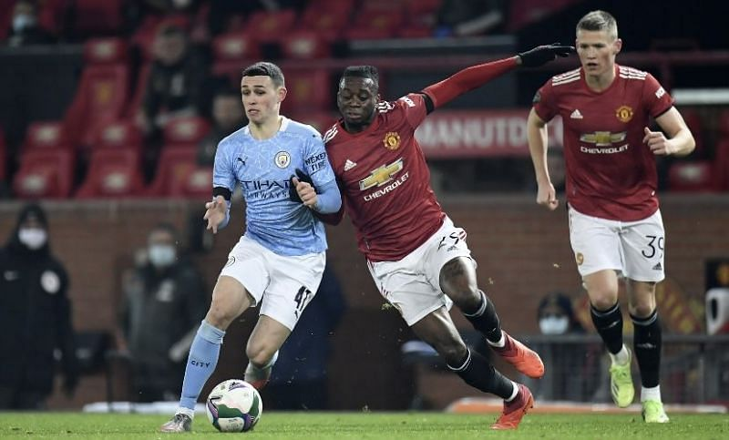 Manchester United lost in the Carabao Cup semi-final to Manchester City.
