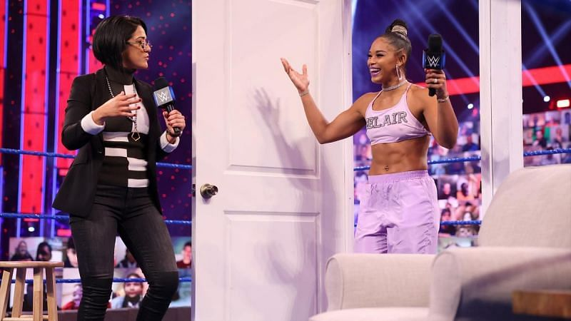 Bianca Belair will face Bayley tonight on SmackDown