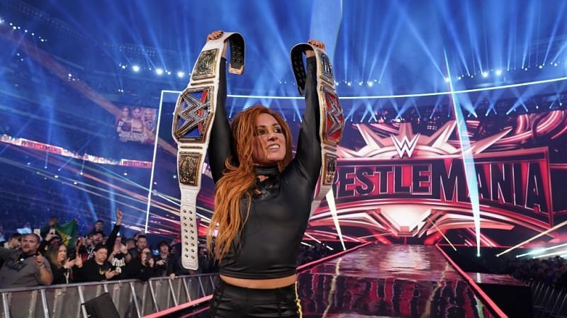 Becky Lynch won the main event of WrestleMania 35