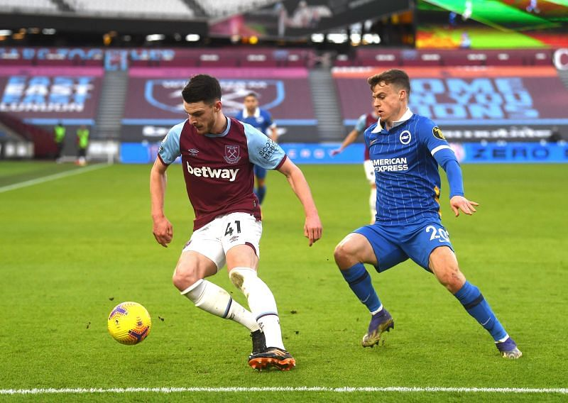 Declan Rice is an important player for West Ham