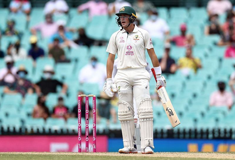 Marnus Labuschagne scored two half-centuries in the third Test