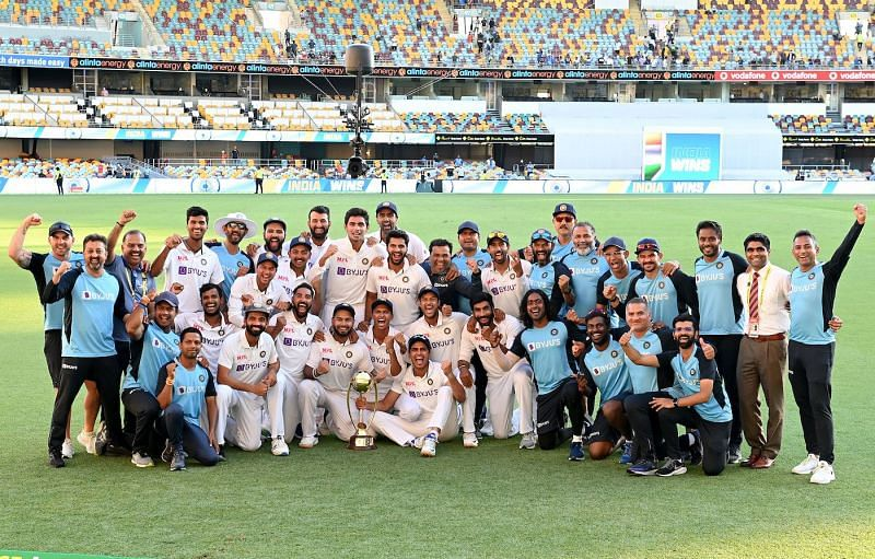 India defeated Australia 2-1 to top of the ICC World Test Championship points table