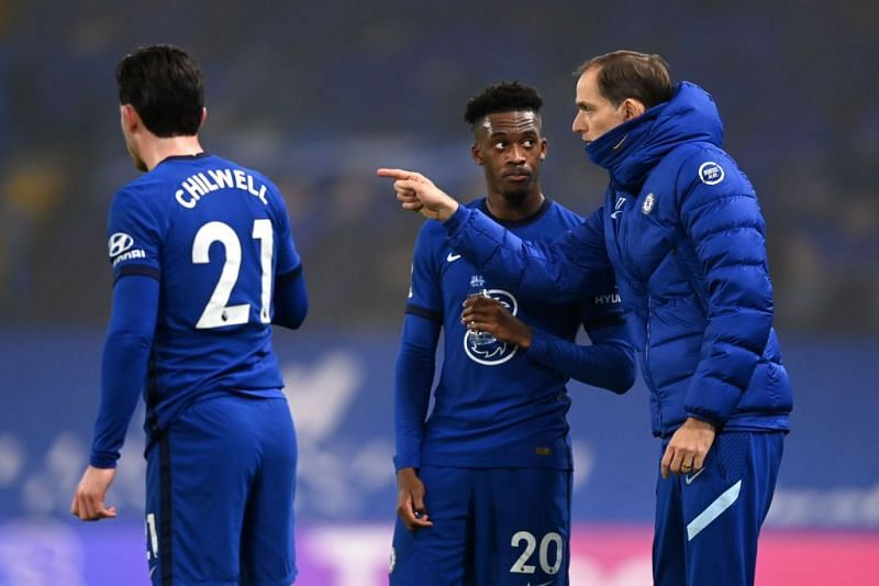 Thomas Tuchel has started Callum Hudson-Odoi in both games as Chelsea manager.