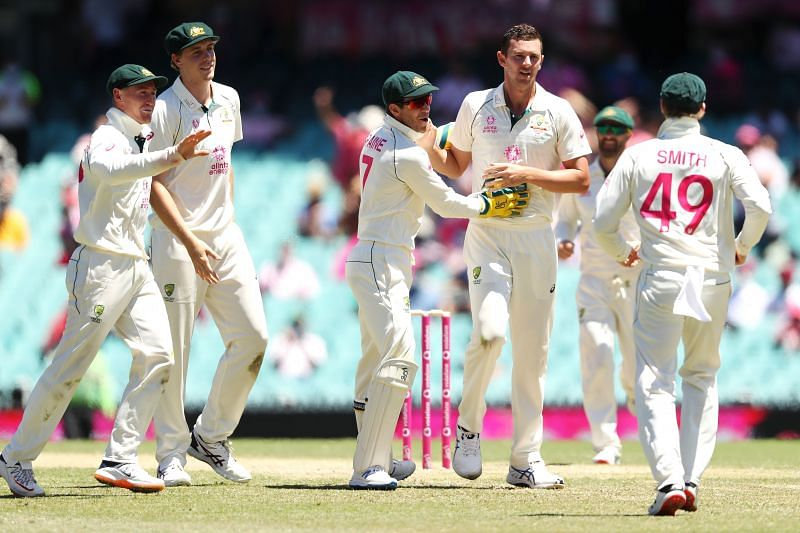 Australia find themselves ahead in the game with a handy first innings lead of 94 runs
