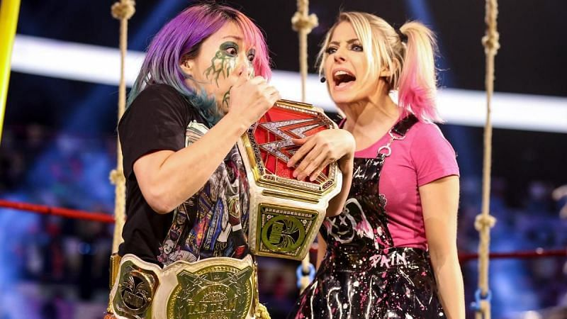 Alexa Bliss and Asuka could be headed for a clash