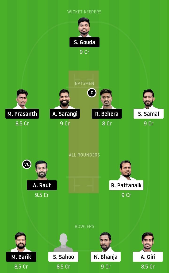 ODL vs ODC Dream11 Team Prediction