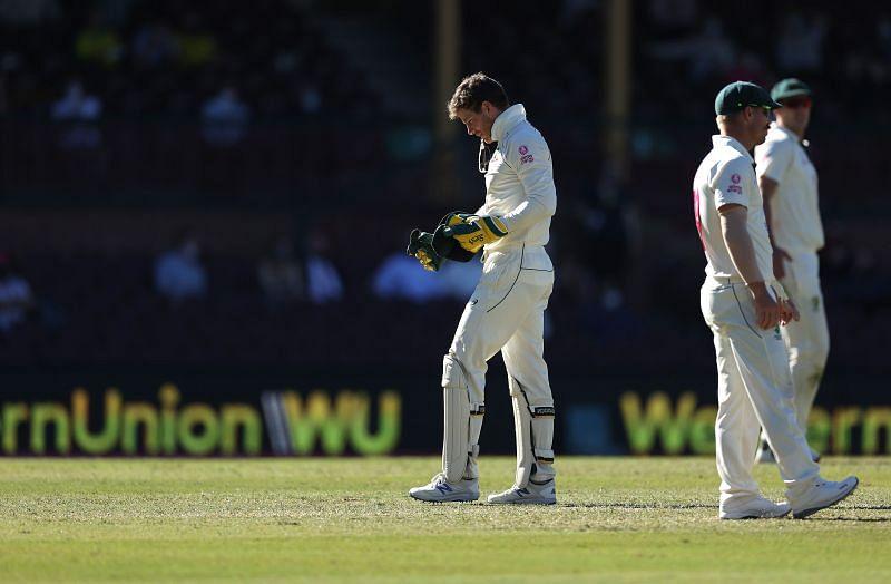 Tim Paine struggled at Sydney