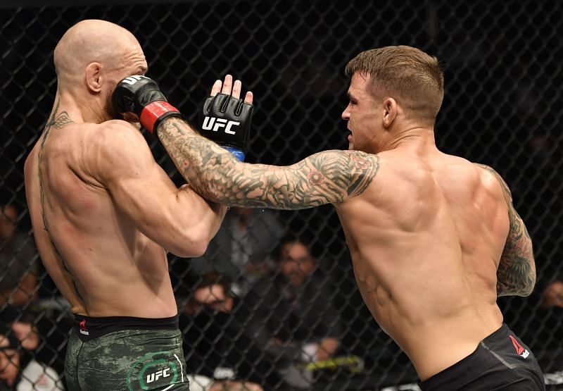 After his loss to Dustin Poirier, where does Conor McGregor