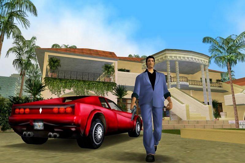 GTA Vice City continues to amaze in 2021 (Image via Polygon)