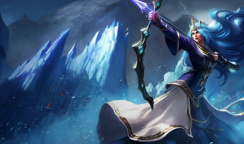 Queen Ashe (Image via Riot Games)