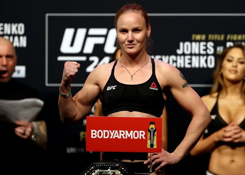 Valentina Shevchenko is far ahead of the rest of her division.