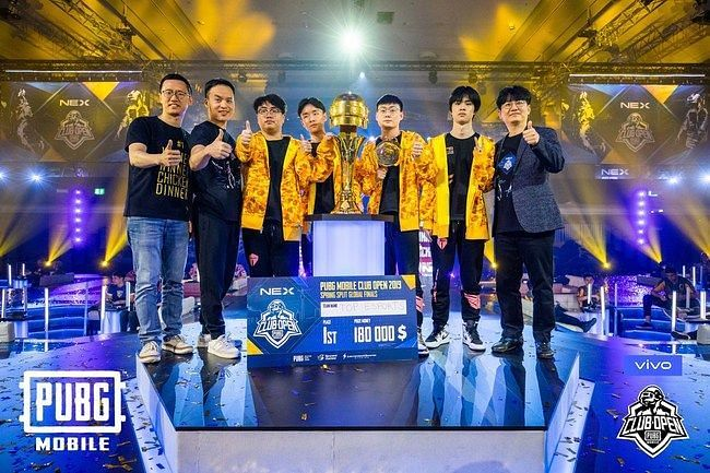 PUBG Mobile Club Open Spring Spit Global Finals