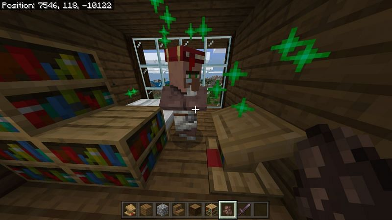 Using Lectern in Minecraft