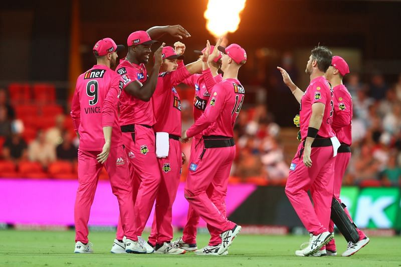 The Sydney Sixers are sitting pretty at the top of the BBL standings