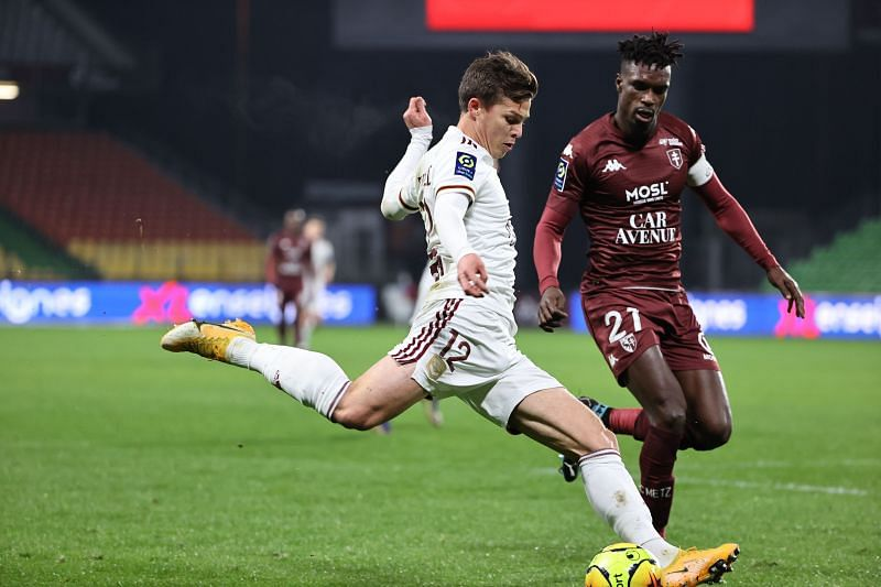 De Preville looked good against Metz after coming back from injury.