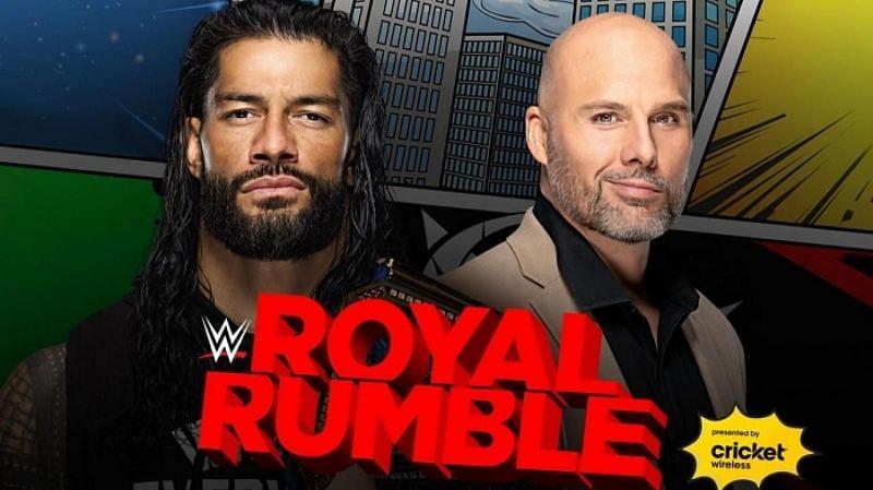 Roman Reigns will face Adam Pearce at WWE Royal Rumble