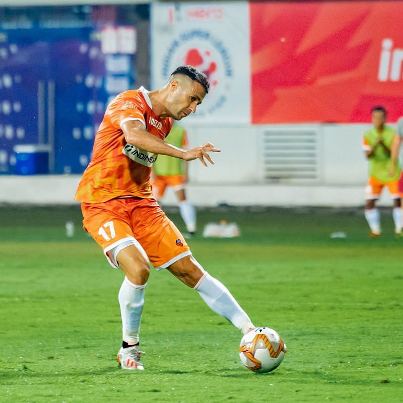 FC Goa frontman Igor Angulo is the second oldest foreigner used in ISL 2020-21