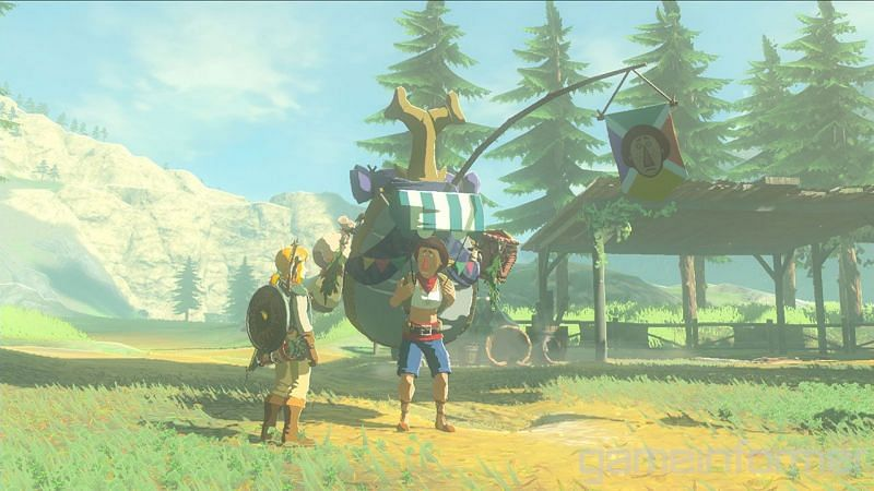 A community modder discovered that Breath of the Wild uses an advanced version of the Nintendo Mii avatars (Image via Nintendo)