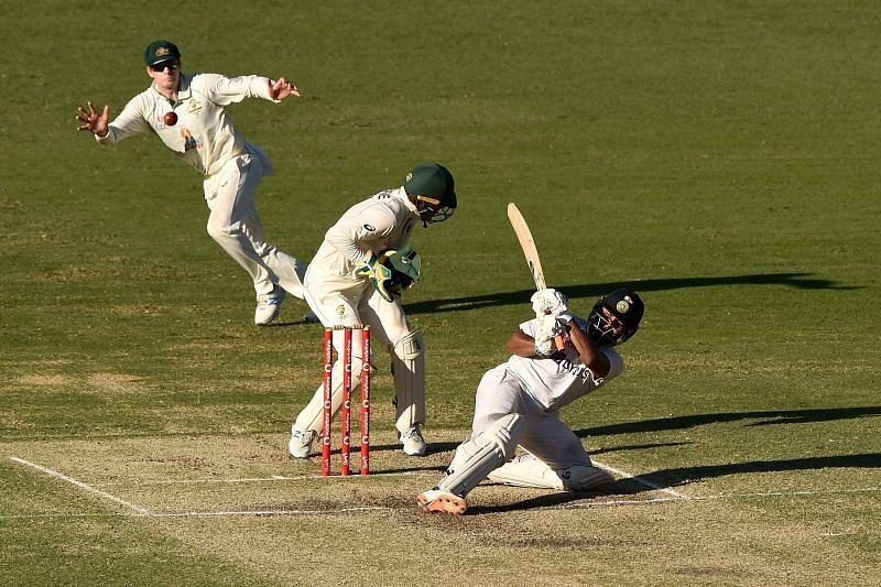 Rishabh Pant down, Australia out! Pic: Twitter