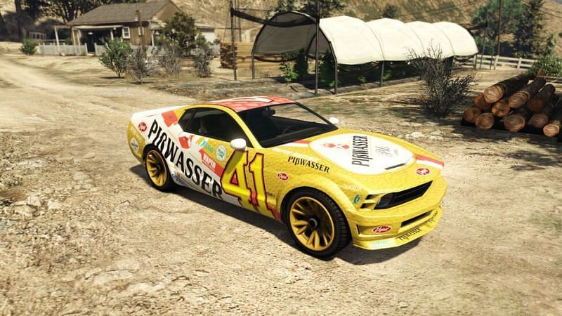 Dominator pisswasser is the fastest car in the base game of GTA 5