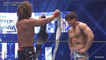 Kota Ibushi becomes a God in the main event of Wrestle Kingdom 15 Day 1.