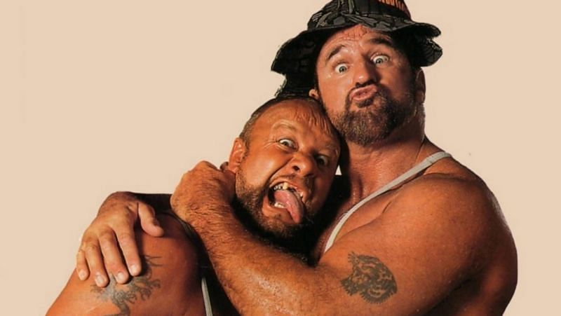 The Bushwhackers were one of the most polarizing characters in the WWE.
