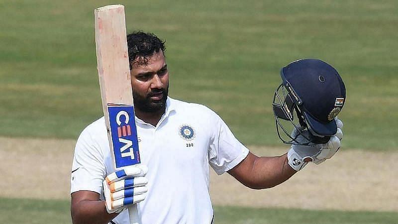 Vice captain Rohit Sharma