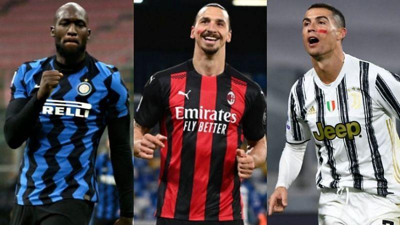 Top 5 goal-scorers in the 2020-21 Serie A
