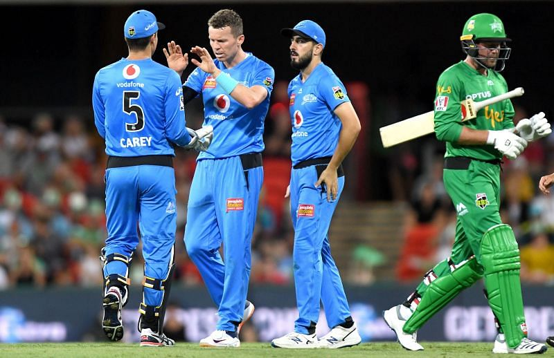 Ben Dunk (in green) and Melbourne Stars part ways