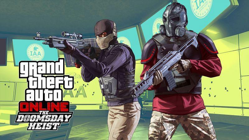 Details about the Doomsday Heistin GTA Online (Image via Rockstar Games)