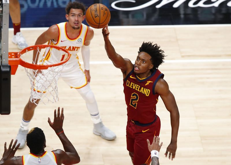 Collin Sexton in action against the Cleveland Cavaliers