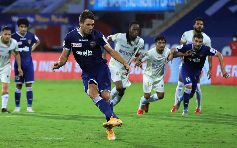 Jakub Sylvestr may not have scored regularly but has created several chances for his side. (Image: ISL)
