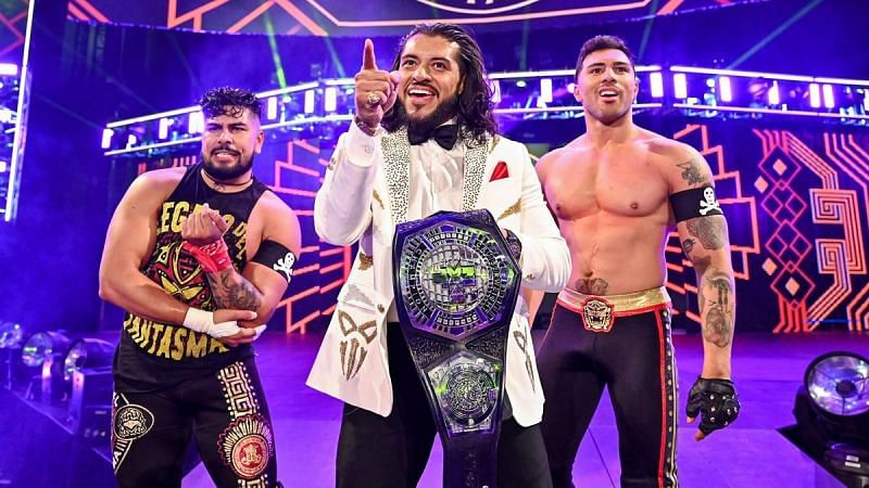 Santos Escobar on the goals of Legado Del Fantasma and what they bring to WWE NXT.