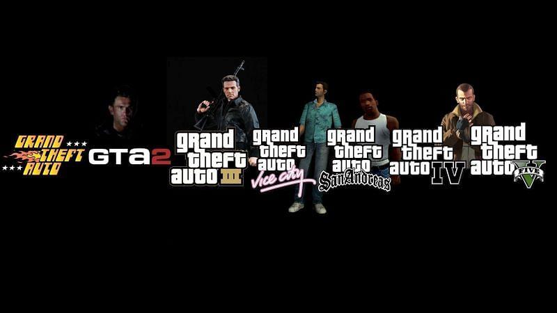 The legendary GTA series (Image via HipWallpaper)
