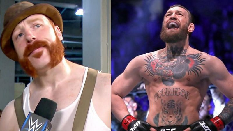 Could fans be seeing Sheamus vs Conor McGregor in the future?
