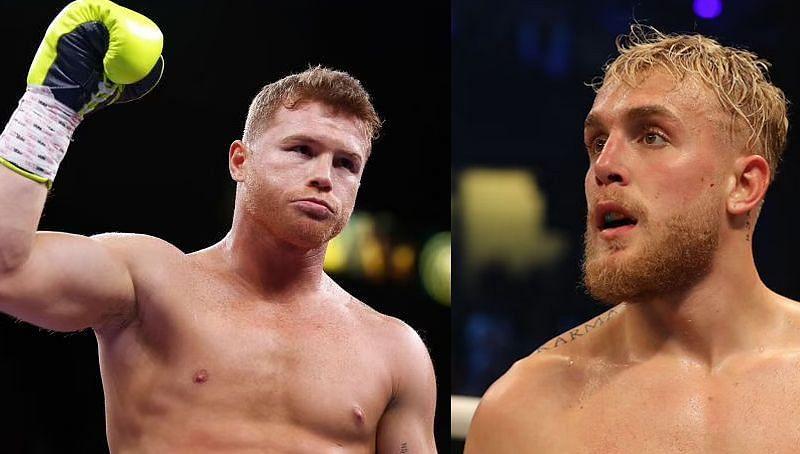 Multi boxing champion Canelo Alvarez and YouTuber Jake Paul