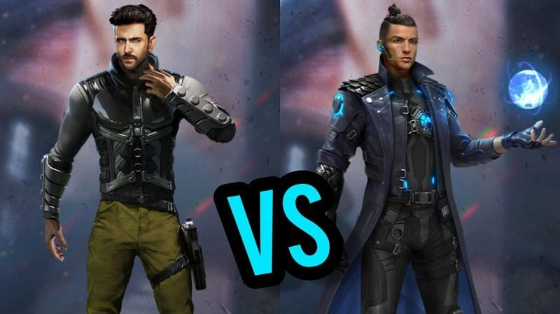 Chrono and Jai are two of the most potent Free Fire characters (Image via Sportskeeda)