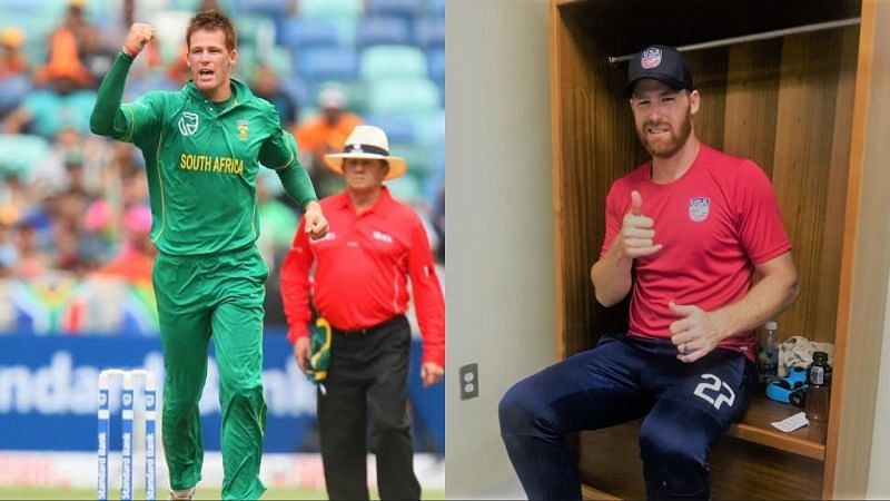 Juan Theron has even played a few matches for the USA cricket team.