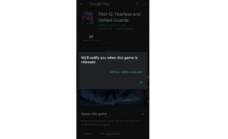 OK बटन पर क्लिक करें