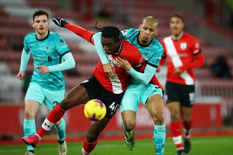Southampton edged Liverpool to a victory